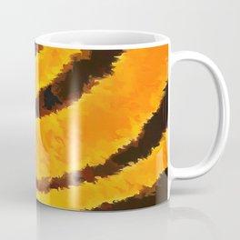 Pop Art Tiger Stripe Animal Print Coffee Mug