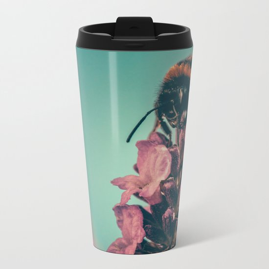 Pregnant Flora #prints #home #decor Metal Travel Mug