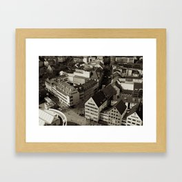 Ulm Plaza Framed Art Print