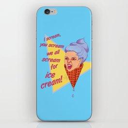 Ice Cream Rage iPhone Skin