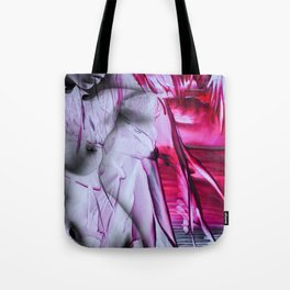 Open the curtain Tote Bag