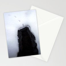 Snow 8 Stationery Cards