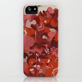 Organic Infographics - Lava iPhone Case
