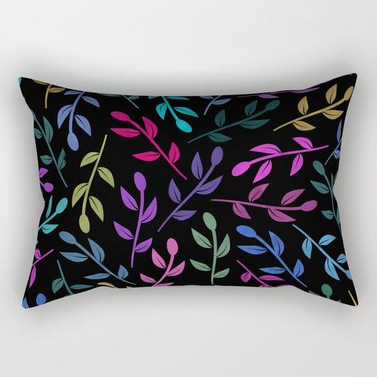 Colorful Leaves V Rectangular Pillow