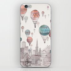 Voyages Over San Francisco iPhone Skin