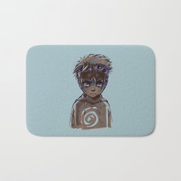 Naruto Alone Bath Mat