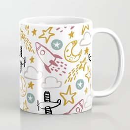 Happy Rocket Coffee Mug