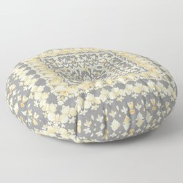 Melodies of Time Floor Pillow