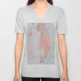 Abstract Painting No. 18 Unisex V-Neck