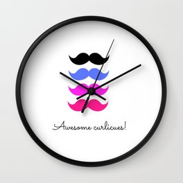 Awesome curlicues Wall Clock