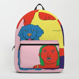 Beautiful lady Backpack