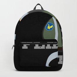 Lustige Verkleidung für Fasching Fasnet tolles Pilot Outfit Backpack