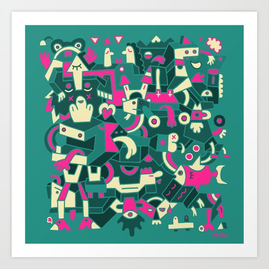 Two Fifty One Art Print
