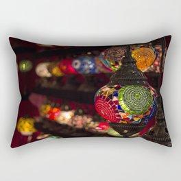 Turkish lamps Rectangular Pillow