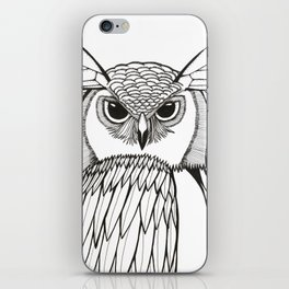 Wings and Eyes iPhone Skin