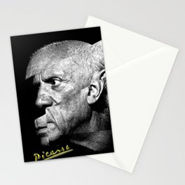 Pablo Picasso Cubism Collage Stationery Cards