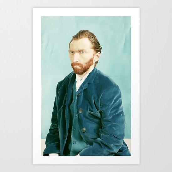 Vector Gogh Art Print