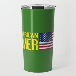 Farmer: All-American Travel Mug