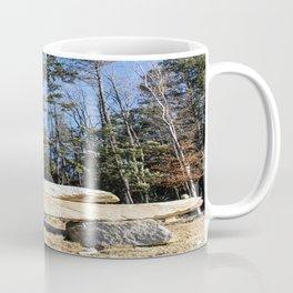 Rock Pile Among The Trees Coffee Mug