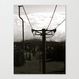 Ski Lift 13 Canvas Print