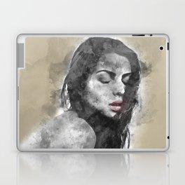 dreaming woman Laptop & iPad Skin