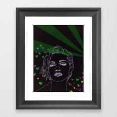Express Yourself Framed Art Print
