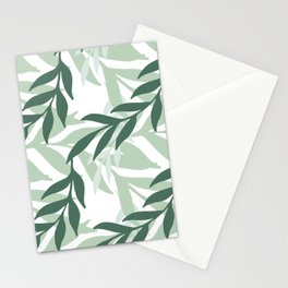 Leaves And Plants Stationery Cards