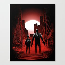 Quarantine: Joel and Ellie Canvas Print