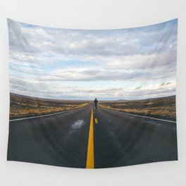 Explore The Open Road Wall Tapestry