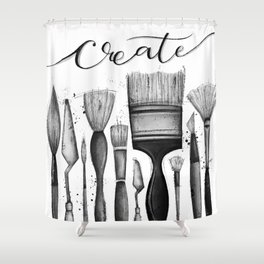 Just Create Shower Curtain