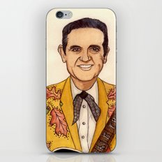 Merle Travis II iPhone & iPod Skin