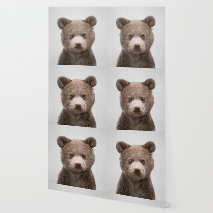 Baby Bear - Colorful Wallpaper