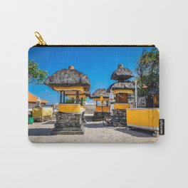 Uluwatu temple in Bali - travel photography Carry-All Pouch