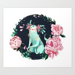 Spirit Friend Art Print
