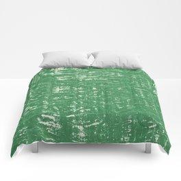 NYC Walls (zelen v.3) Comforters