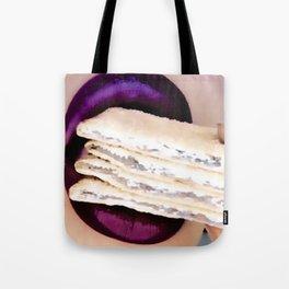 Purple Queen Tote Bag