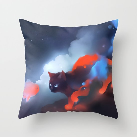 Over The Rainbow Throw Pillow