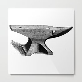 Anvil Metal Print