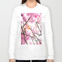 martell Long Sleeve T-shirts featuring Seattle Blossoms by G Martell
