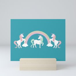 Look at me! I'm a Unicorn! Mini Art Print