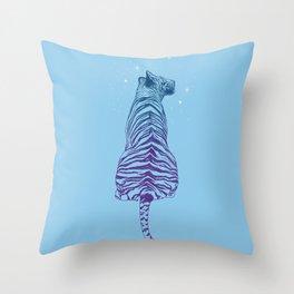 Tiger + Stars Throw Pillow