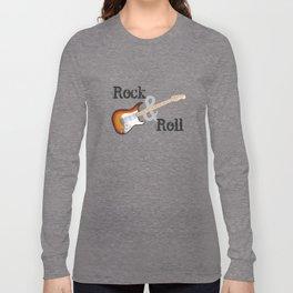 Rock and Roll Guitar Long Sleeve T-shirt