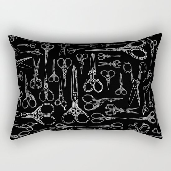 Scissors  Rectangular Pillow