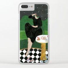 India Mahdavi for Ladurée Quai des Bergues Clear iPhone Case