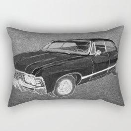 '67 Chevy Impala (Supernatural) Rectangular Pillow