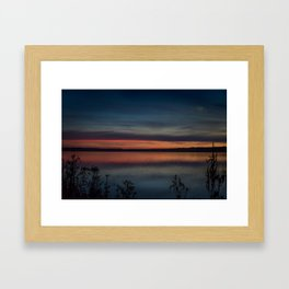 Another colorful morning Framed Art Print