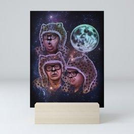 Man Cheetah Moon Mini Art Print