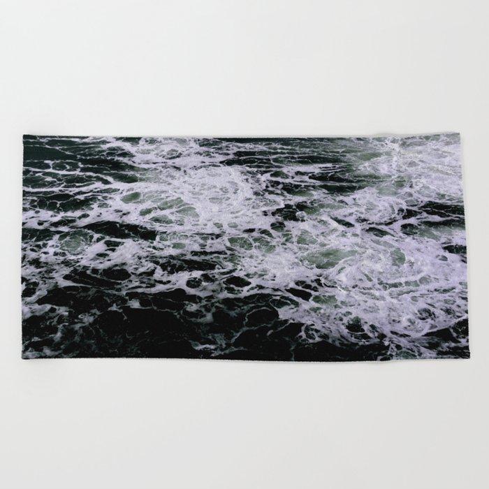 Dark Ocean II Beach Towel