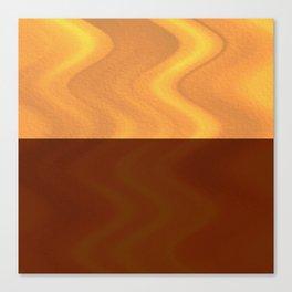 Copper-Bronze and Gold Design Canvas Print