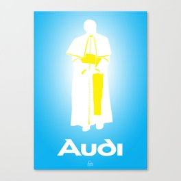I'm Out (Pope) Canvas Print